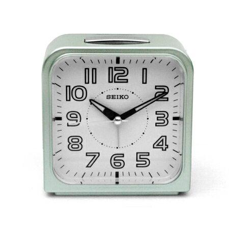 SEIKO精工鬧鐘 亮彩磨砂質感 金屬色系 靜音指針夜光功能鬧鐘 柒彩年代【NE1483】原廠公司貨 0