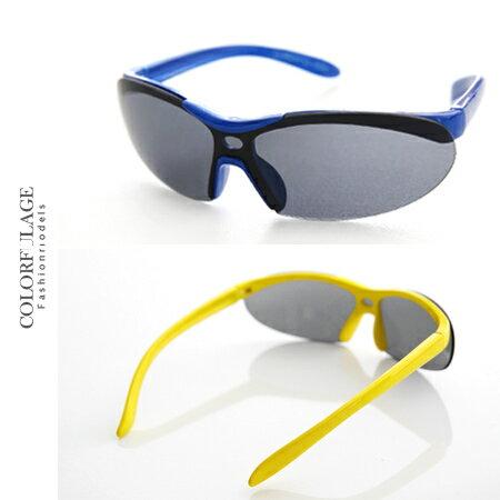 太陽眼鏡 墨鏡 抗UV400 運動必備兒童專用太陽眼鏡 繽紛色彩 輕巧、防風 柒彩年代【NY292】共五色 0