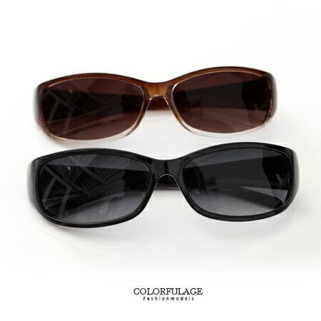 墨鏡 窄版素面太陽眼鏡 簡約小框 抗UV400中性款遮陽 柒彩年代~NY294~單支