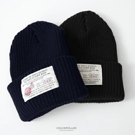 毛帽 MIT保暖大布標毛帽 柒彩年代【NMA4】單頂 - 限時優惠好康折扣