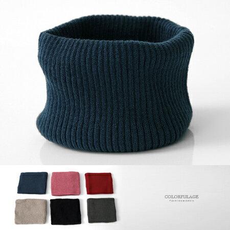 脖圍 MIT保暖素色兩用髮帶 柒彩年代【NMC6】單個