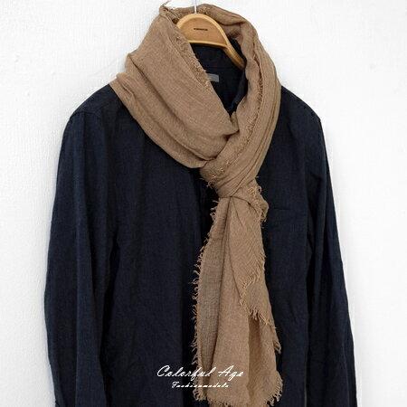 圍巾 棉麻流蘇大絲巾 柒彩年代【NMD2】 - 限時優惠好康折扣
