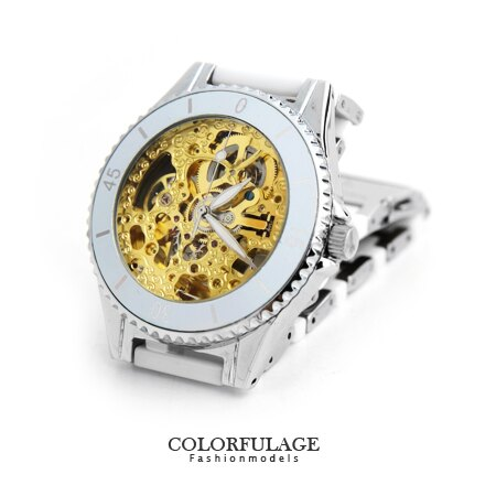 Valentino范倫鐵諾 陶瓷自動上鍊機械手錶腕錶 原廠公司貨 夜光指針功能 柒彩年代【NE1229】單支價格