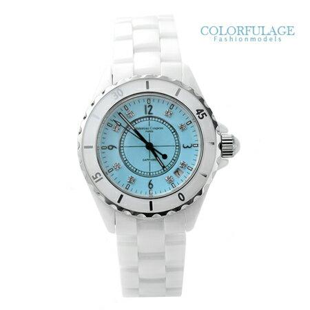 Valentino范倫鐵諾 馬卡龍精密全陶瓷手錶對錶 日本機芯+藍寶石鏡面 柒彩年代【NE1053】單支 0