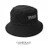 潮流素面漁夫帽 簡約貼標紳士帽 戶外遮陽帽 多色可選 柒彩年代【NH158】戶外旅遊透氣棉料 0