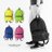 簡約百搭實用後背包 運動線條簡單設計 尼龍材質不怕髒防潑水 大容量空間 柒彩年代【NZ402】單個 0