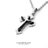 柒彩年代【NB483】南極光多層立體翅膀十字架鈦鋼項鍊 高質感單品 型男必備 0