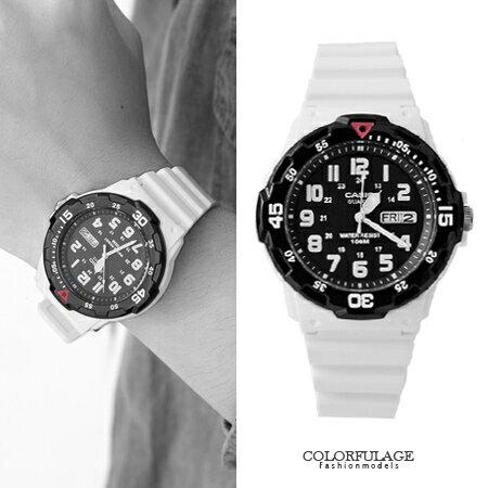 CASIO卡西歐 黑色配色多功能軍裝中性手錶 休閒運動腕錶 防水100米 柒彩年代【NE1332】原廠公司貨 0