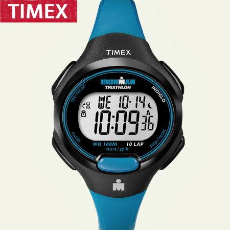 路跑專用100米防水 TIMEX美國第一品牌 IRONMAN 鐵人專業慢跑手錶 柒彩年代【NE1102】原廠公司貨