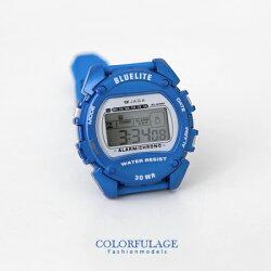 電子錶 JAGA捷卡彩色多功能電子錶【NE1314】單支