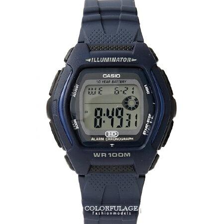 CASIO卡西歐 輕巧酒桶造型多功能電子運動手錶腕錶 防水100米 柒彩年代【NE1362】原廠公司貨 0