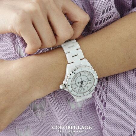 柒彩年代【NE459】高精密全陶瓷腕錶 Valentino范倫鐵諾 藍寶石鏡片+日本機芯手錶~單隻 0