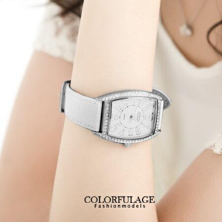 范倫鐵諾Valentino 經典酒桶造型大數字水鑽手錶 原廠公司貨 柒彩年代【NE958】單支價格 0