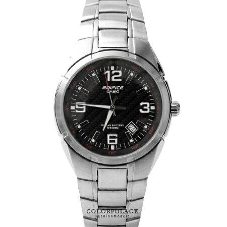 CASIO卡西歐EDIFICE系列 時尚高品味編織鏡面不銹鋼腕錶 沉穩黑色 柒彩年代【NE1450】防水100米
