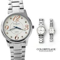情人對錶推薦到Valentino范倫鐵諾 大數字美學不鏽鋼手錶對錶 原廠公司貨 柒彩年代【NE995】單支就在柒彩年代推薦情人對錶