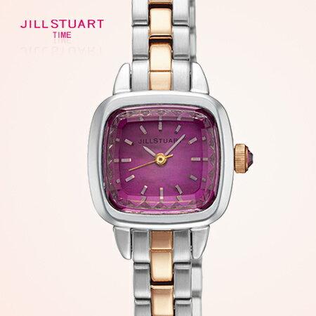 JILL STUART 名媛珍珠母貝錶盤方形腕錶手錶 精緻切割面 日本限量 柒彩年代【NE1018】原廠公司貨 0