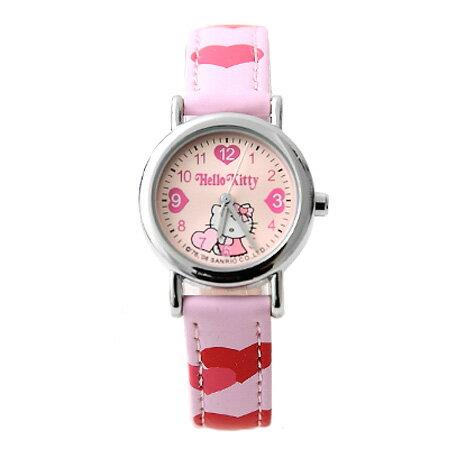 兒童錶 Hello Kitty小朋友手錶 可愛凱蒂貓 清楚數字刻度 柒彩年代~NE1099