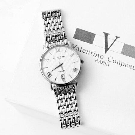 Valentino范倫鐵諾 獨特波紋面板手錶腕錶 藍寶石鏡片 柒彩年代【NE1130】原廠公司貨 0