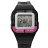 CASIO卡西歐 輕巧無負擔多功能電子運動手錶腕錶 繽紛黑桃 柒彩年代【NE1149】原廠公司貨 0