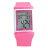 手錶 JAGA 捷卡都會時尚風多功能電子錶 運動女孩粉白色系腕錶 柒彩年代【NE1178】原廠公司貨 0
