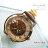 柒彩年代【NE55】玫瑰金咖啡皮革材質自動上鍊機械錶錶~專櫃精品百貨時尚 0