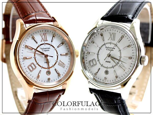 柒彩年代【NE316】專櫃精品范倫鐵諾Valentino手錶 自動上鍊機械錶 名牌時尚~單支價格