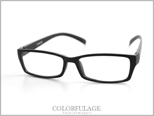 柒彩年代【NY42】窄版簡約素面少見的全白色澤眼鏡框~超百搭型男配件! 0