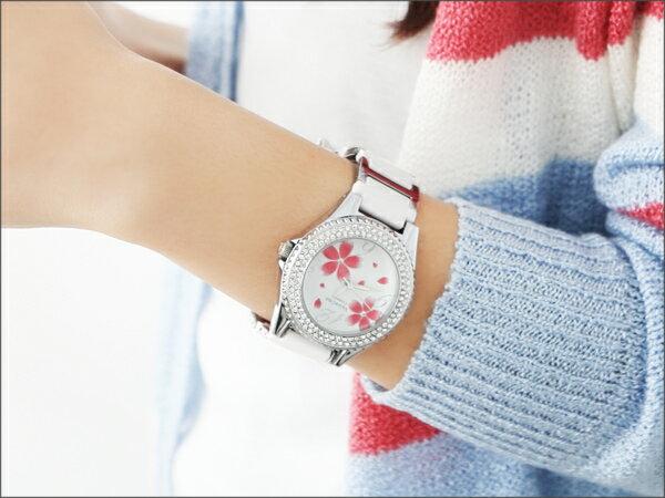 秀氣女孩繡花不繡鋼陶瓷手錶.腕錶 Valentino范倫鐵諾 柒彩年代【NE166】單支價格 0