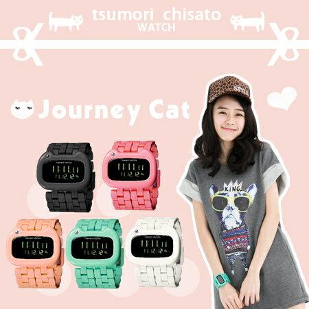 旅貓津森千里 tsumori chisato 日系手錶 Journey Cat 錶款 柒彩