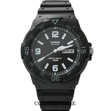 CASIO卡西歐100米防水軍裝手錶 路跑 型中性腕錶 有 店家 柒彩年代~NE1060~
