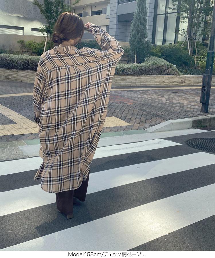 日本Kobe lettuce  /  率性長版襯衫外套 罩衫    /  e2534  /  日本必買 日本樂天直送  /  件件含運 3