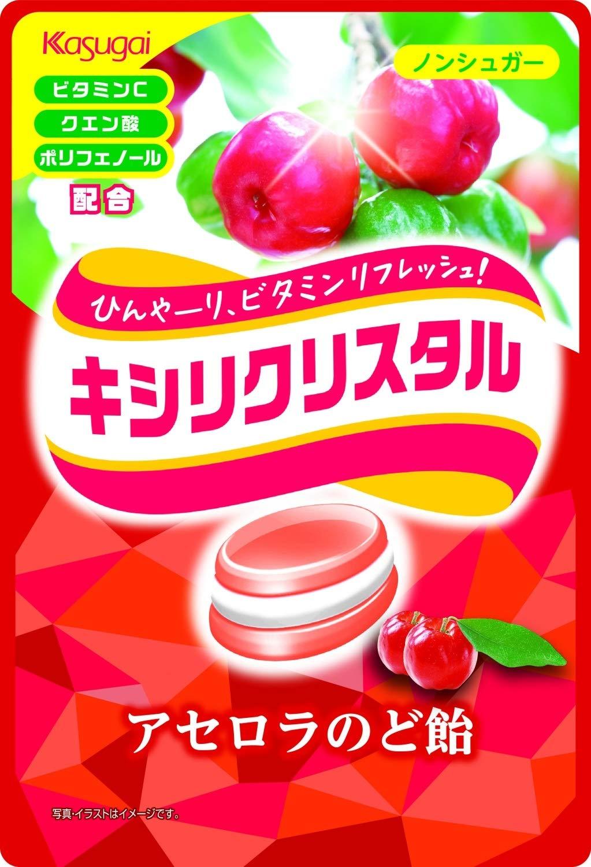 糖果 日本 春日井 西印度 櫻桃味糖 63g 日本製造進口