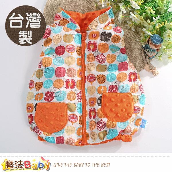 嬰幼兒外套 台灣製秋冬保暖鋪棉背心外套 魔法Baby~b0214