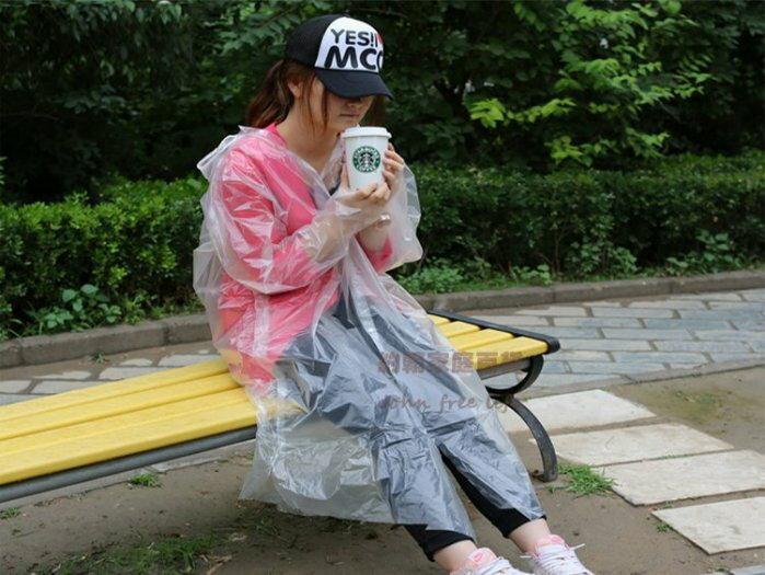 約翰家庭百貨》【YX160】10入 薄型拋棄式雨衣 一次性雨衣 便攜雨衣 臨時雨衣 隨機出貨
