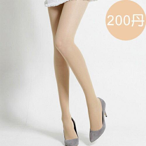 足下物語200丹輕盈美腿襪S-XL(膚色)