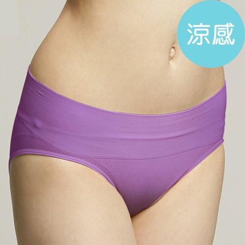 【領券再折$50↘結帳輸入序號:18June50a】足下物語 抗菌舒型三角褲 (S-L) (紫)