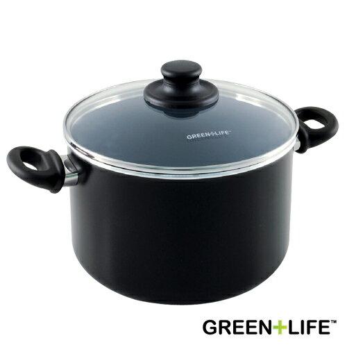 德國雙人牌代理 比利時品牌 GREEN+LIFE 22cm雙耳湯鍋(附蓋)(BFCW000145002)