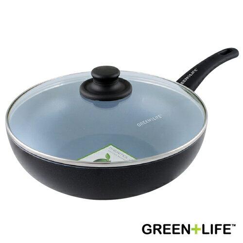 德國雙人牌代理 比利時品牌 GREEN+LIFE 28cm深炒鍋(附蓋)(BFCW000146002)
