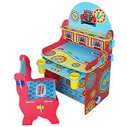 【Kikimmy】俏皮兒童成長學習書桌-小汽車組(BJ0033U)