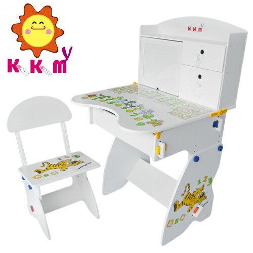 【kikimmy】日風升降學習桌-經典白(BJK072)