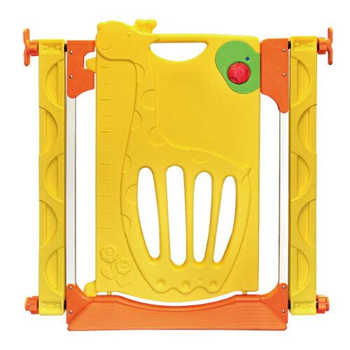 寶貝樂 可愛長頸鹿三段式門鎖安全門欄【PY-05】(BJPY05)