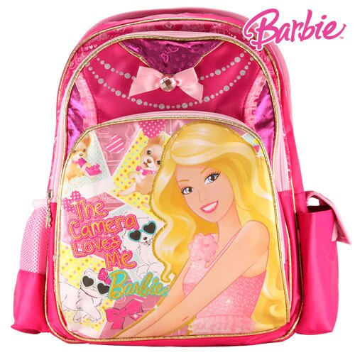 芭比Barbie 魔力甜心護脊書包C-紅 (BLA270436B)