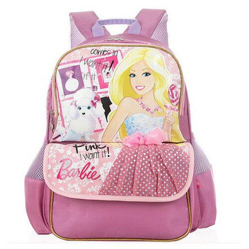 芭比Barbie 小甜心學生書包C-紫色(BLA2797693C)
