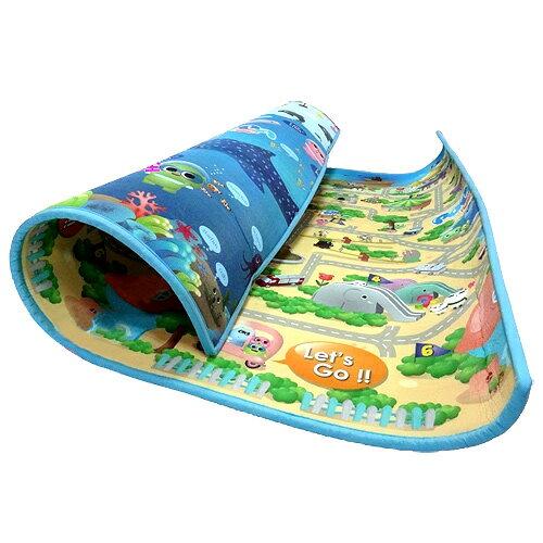 寶貝家 POPA Family 台灣限定圖款 海洋世界+趣味迷宮2cm特厚款(BT0045)