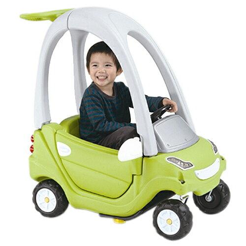 【寶貝樂】豪華嘟嘟造型學步車附踏板及控制桿-綠色【CA-11G】(BTCA11G)