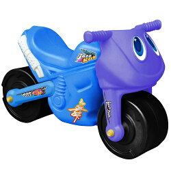 寶貝樂 小爵士摩托車造型學步助步車(藍)(BTCA17B)