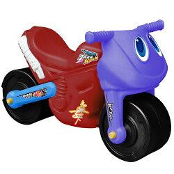 寶貝樂 小爵士摩托車造型學步助步車(紅)(BTCA17R)
