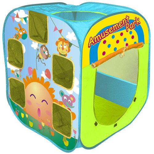 寶貝樂遊樂園帳篷折疊遊戲球屋送100球【CBH-18】(BTCBH18)