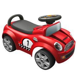 【寶貝樂】摩登賽車造型助步車-紅(BTRT536R)
