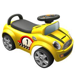 【寶貝樂】摩登賽車造型助步車-黃(BTRT536Y)
